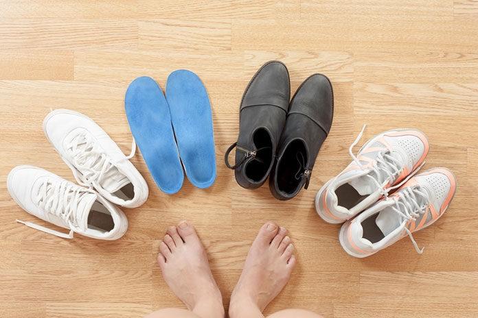 buty na haluksy